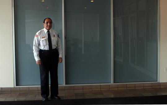 THE COMMANDER — Ghulam Farooq was used to giving orders as a two-star general in the Afghanistan Army. He fled the Taliban in 2000, and now he works as a security guard in Somerville. Initially, in 2001, US officials sought his advice on the war in Afghanistan, but they have since faded away.