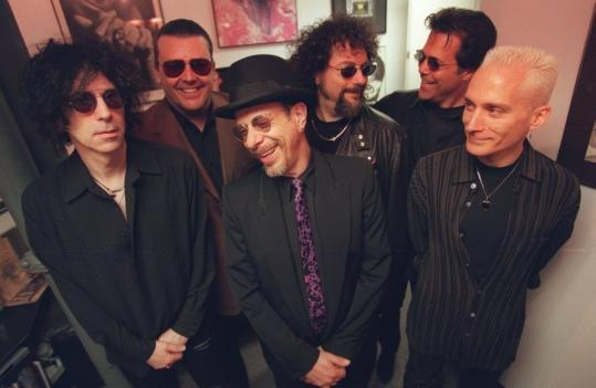 The J. Geils Band (from left): Peter Wolf, Jay Geils, Danny Klein, Magic Dick, Stephen Jo Bladd, And Seth Justman.