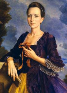 Forensic anthropologists created a portrait of a young Martha Washington by applying age-regression technology to a portrait of an aging first lady.