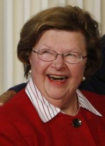 Senator Barbara Mikulski, a Maryland Democrat, led the effort to help the beleaguered auto industry.