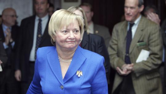 J. Bonnie Newman, the New Hampshire US senator-designate, described herself as a ''reasonable Republican'' yesterday.