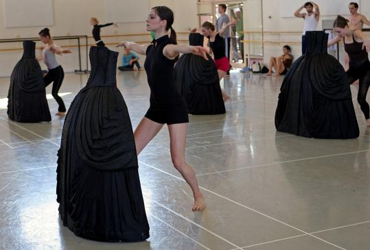 Black, white, and contemporary all over. Boston Ballet prepares for the US