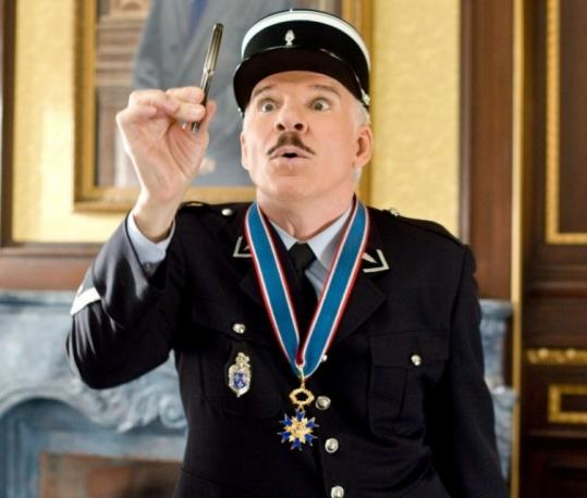 Steve Martin as the bumbling inspector in ''Pink Panther 2.''