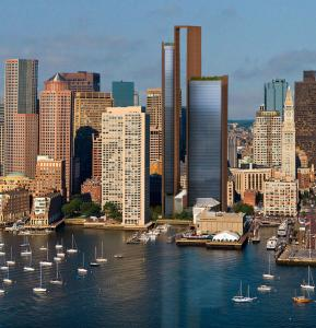 Developer Don Chiofaro is proposing a three-tower structure, selected from among many other models designed by a New York architect, for the current Harbor Garage site.