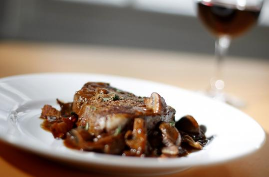Dishes such as boeuf Bourguignon (above) and Spanish braised cod are excellent options for Valentine's Day dinner at your own table.