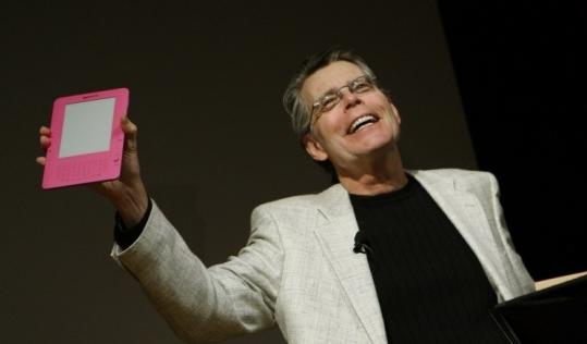 Stephen King has written a novella expressly for the Kindle 2.