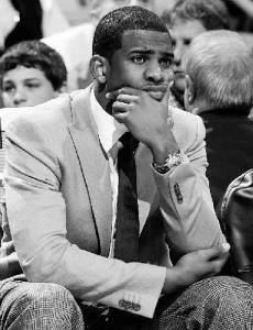 Hornets guard Chris Paul has been a spectator for the last three games and may be again tonight. He'll decide today.