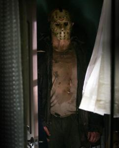 Derek Mears as Jason in the new ''Friday the 13th.''