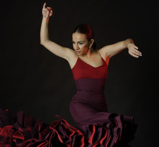 INES SAGASTUMEIsabel Bayon will perform at the Flamenco Festival in Boston this weekend.