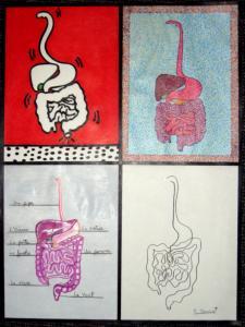 ''Studies in Digestion'' by Deborah Grumet was sold on eBay.