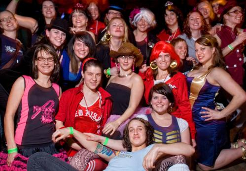 Great Dames: The entire roller derby league posed for a group photo. More info on the Milky Way SUBMIT Your nightlife photos! TALK What scene should we visit next?
