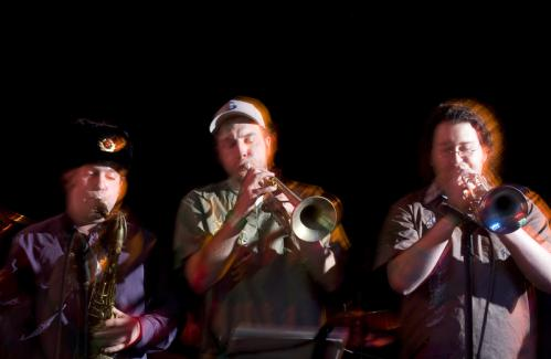 Another shot of brass ensemble Down to This Earth playing for the crowd. More info on the Milky Way SUBMIT Your nightlife photos! TALK What scene should we visit next?
