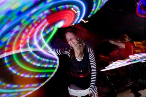 Marria Grace of the Boston Hoop Troop tripped the light fantastic on stage. More info on the Milky Way SUBMIT Your nightlife photos! TALK What scene should we visit next?