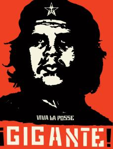 Both ''Gigante'' (left) and ''Guns and Roses,'' by the artist Shepard Fairey, make use of existing images. ''Gigante'' blends a photograph of Che Guevara with Fairey's famed Andre the Giant motif. ''Guns and Roses'' is based on a Chinese Communist poster.