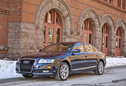 While Audi's A4 is a jewel in the entry-level luxury market, the larger A6 is less impressive.