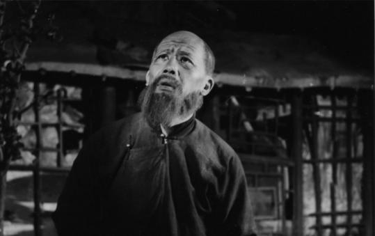 Chinese actor, translator, and eventual government minister Ying Ruocheng in his first professional stage role, early 1950s.