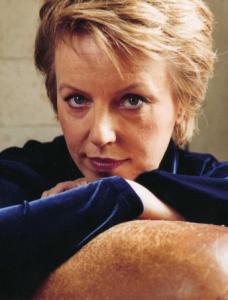 Swedish mezzo-soprano Anne Sofie von Otter balanced classical and pop tunes.