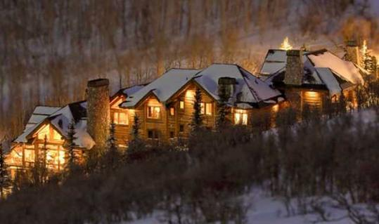 The ski home that Mitt and Ann Romney own in Deer Valley overlooks a reservoir and mountains. The Romneys own four mansions across the country.