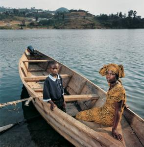 ''Annet with her son Peter'' is a portrait from ''Intended Consequences: Rwandan Children Born of Rape,'' opening Monday at Brandeis.