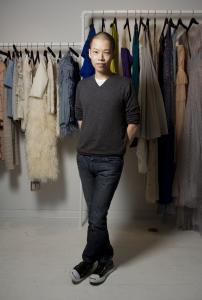 Jason Wu, who designed Michelle Obama's inaugural gown, was lauded for his fall/winter 2009 collection (examples below) at Fashion Week in New York.