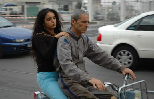 Hafsia Herzi (left) and Habib Boufares in ''The Secret of the Grain.''
