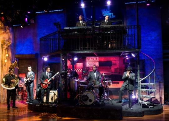 Becoming the house band for Jimmy Fallon's ''Late Night'' show has ''enabled us to survive'' says the Roots' ?uestlove.