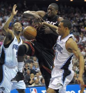 Despite scoring 50 points, Dwyane Wade and his Heat teammates couldn't stop the Magic from running them off the court.