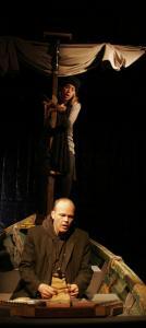 Jennifer Johnson and John Peitso as Penelope and Odysseus.