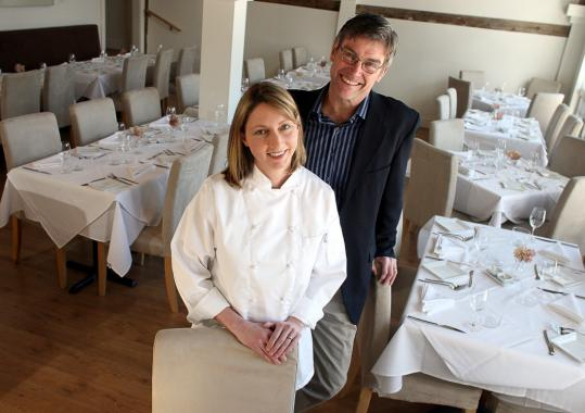 Still River Cafe owners Kara and Robert Brooks are trial lawyers turned chef and gardener.