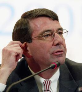 Ashton Carter has no professional ties to US arms makers or manufacturing industry.