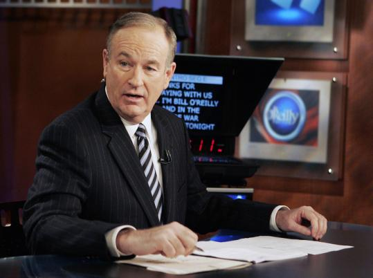 Viewership for Bill O'Reilly's show, the most popular prime-time cable news program, is up 33 percent from last year.