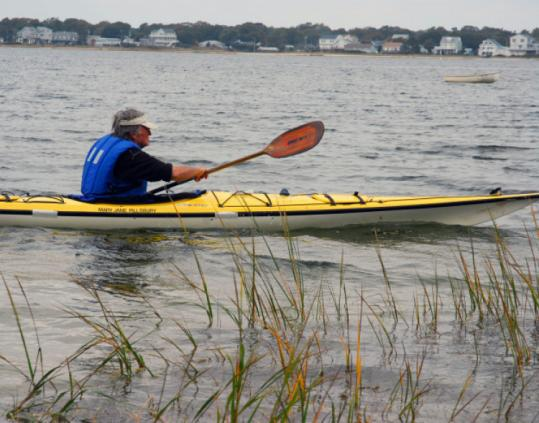 Kayaker Richard Wheeler, 78, raised more than $60,000 for the Wareham Free Library with a paddle-a-thon.