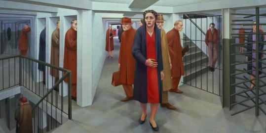''Subway,'' George Tooker's most famous painting, became an icon of postwar alienation.
