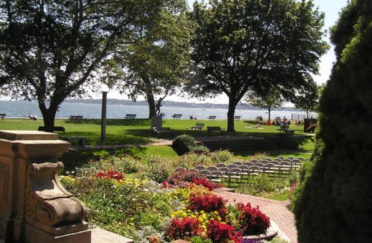 Lynch Park is a 16-acre waterfront park in Beverly that offers sweeping views of the Atlantic Ocean.