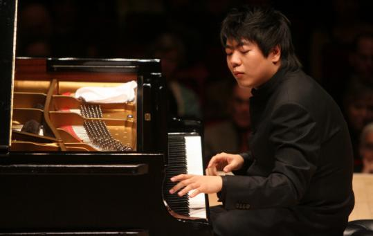 Lang Lang (pictured at Carnegie Hall last March) played a Symphony Hall recital on Sunday.