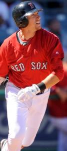 Jed Lowrie went 2 for 3, including a double, in the 9-8 loss to the Reds yesterday.