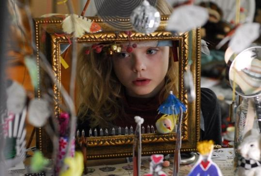 Elle Fanning plays a 9-year-old with a difference in ''Phoebe in Wonderland.''