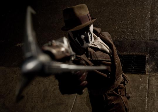 Rorschach (played by Jackie Earle Haley) is the secret star of ''Watchmen.'' He's at one with his super-identity - and also crazy.