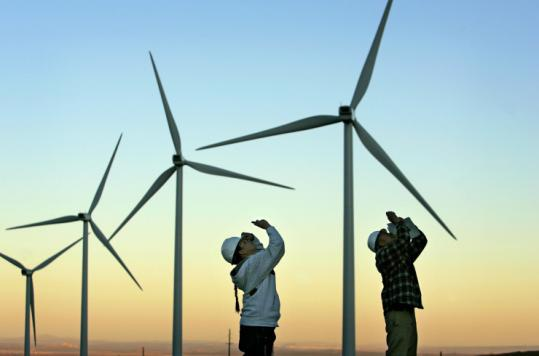 Wind could supply 20 percent of America's electricity by 2030, up from less than 1 percent now, the Energy Department says.