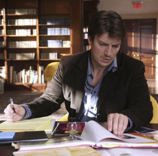 Nathan Fillion plays a best-selling mystery author in the new ABC series ''Castle,'' which debuts Monday at 10 p.m.