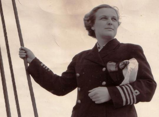 Molly Kool in 1939, the year she qualified as a captain at age 23.