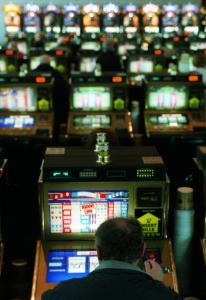 Critics say video slots like these at Foxwoods are especially addictive to some.