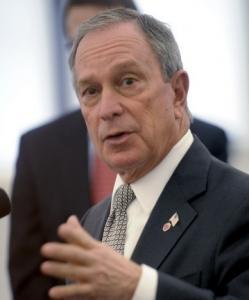 Mayor Michael Bloomberg is using his Spanish skills more.