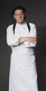 Chef Marco Pierre White hosts the reality show ''The Chopping Block,'' in which pairs of hopefuls try to open a new restaurant.