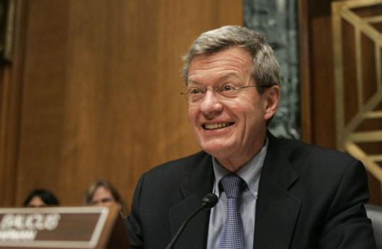 Max Baucus, chairman of the Senate Finance Committee, has suddenly become a leading force behind legislation that liberal Democrats have longed to pass for the last half-century.