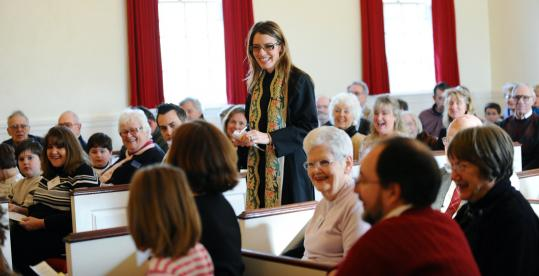 The Rev. Nicole Lamarche, after some initial skepticism from the congregation, has won over the parishioners of Cotuit Federated Church. Her past as a beauty pageant contestant caused quite a stir when she took over as pastor two years ago.