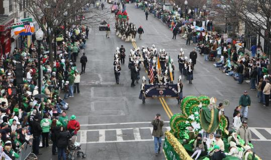 In 1995, the US Supreme Court unanimously affirmed the Saint Patrick's Day parade organizers' right to exclude gay groups.