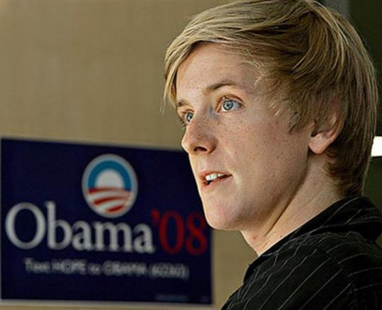 Twenty-five-year-old Chris Hughes's extensive resume includes online fund-raising for Barack Obama.