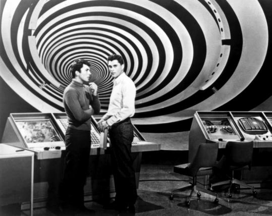 James Darren and Robert Colbert went in ''The Time Tunnel.''