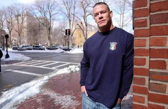 Pro wrestler John Cena, whose film ''12 Rounds'' opens this week, says acting in films is an expansion of what he does in the ring.